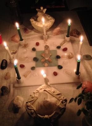 New Year ritual